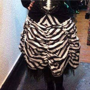 Restyle parachute circus skirt
